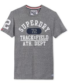 Superdry Men's Graphic-Print T-Shirt Superdry Mens, Tshirts Online, Graphic Prints, Mens Tops, T Shirt, Clothes, Caps Hats, Supreme T Shirt, Outfits