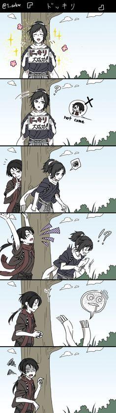 「刀剣ログ(07)」/「有川壱@原稿中」の漫画 [pixiv]