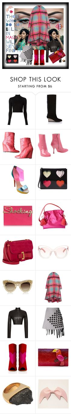"""""""Ooh, I think I might be a Style Icon!!!"""" by littlesaraha ❤ liked on Polyvore featuring Rosetta Getty, Zero + Maria Cornejo, IRO, Miu Miu, Christian Louboutin, Christopher Kane, Charlotte Olympia, Loewe, Delvaux and Markus Lupfer"""