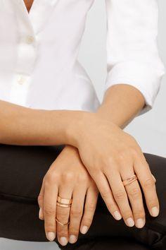Repossi rose gold ring #thelifestyleedit #fashion #style bijoux fantaisie tendance et idées cadeau femme à prix mini