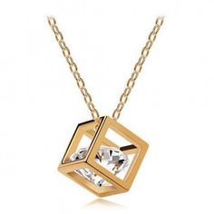 Gold Plated Zircon Crystal Vintage choker Pendant Necklaces Fashion Jewelry for women Gold Plated Necklace, Heart Pendant Necklace, Crystal Necklace, Gold Necklace, Necklace Chain, Diamond Necklaces, Stone Necklace, Gemstone Bracelets, Gemstone Earrings