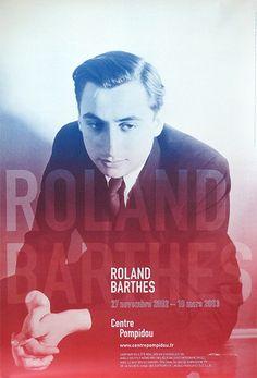 Roland Barthes, Centre Georges Pompidou
