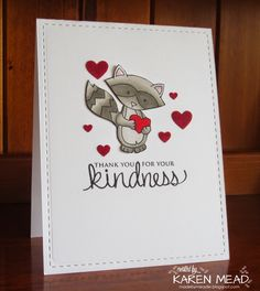Made by Meadie: Kindness Matters Stamps by Newton's Nook Designs