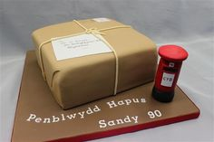 Special birthday cakes by Lyn's Cake Creations Post Box Cake, 60th Birthday Cakes, Birthday Ideas, Cake Gallery, Cake Decorating, Decorating Ideas, Special Birthday, Cake Creations, Cake Recipes