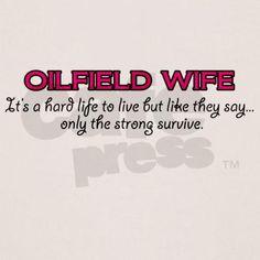 Spoiled Oilfield Girlfriend Hoodie Sweatshirt CafePress