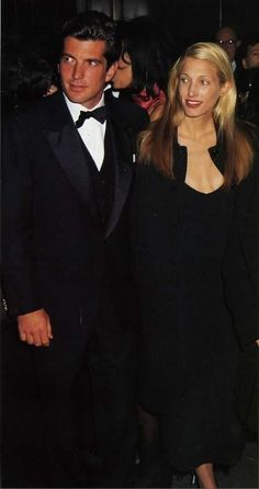Carolyn and John Kennedy, Jr......Why oh why did they have to leave us so soon?  B.