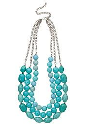 Chunky Turquoise Necklace - maurices.com