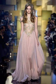 Some of the most eye-catching selections from Elie Saab at Haute Couture Week FW15/16.