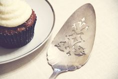 In the shop: 1930's Vintage Silver Plated Wedding Cake Server   by OhWhatLove, $14.00