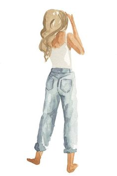 Isabella Art Print by Sabina Fenn Illustration - X-Small Illustration Mode, Watercolor Illustration, Watercolor Paintings, Illustrations, Watercolors, Painting Inspiration, Art Inspo, Arte Sketchbook, Sketchbook Ideas