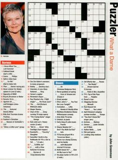 Printable People Magazine Crossword Puzzles - That does not know about Printable People Magazine Crossword Puzzles? This press is widely used to instruct word.
