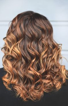 Natural Caramel Balayage | Cherry Blossom Belle