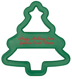 Too early to start #holiday #baking? Nah! We can't wait to put our new custom tree cookie cutter to use. (It even comes with a branded recipe card!) #christmasstree #cookiecutter #branding #promotionalproducts