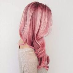 We just adore pink hair!