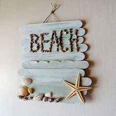 sea shells crafts ideas | Ideas for Last Minute Summer Projects