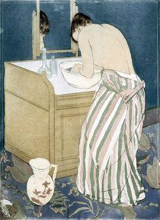 """Résultat de recherche d'images pour """"mary cassatt toilette"""""""