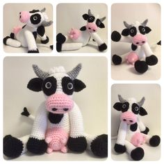 Hey, I found this really awesome Etsy listing at https://www.etsy.com/listing/235643336/crochet-pattern-bella-the-cow-crochet