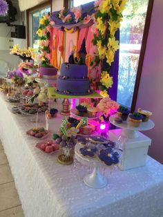 Rapunzel / Tangled Birthday Party Ideas   Photo 8 of 28