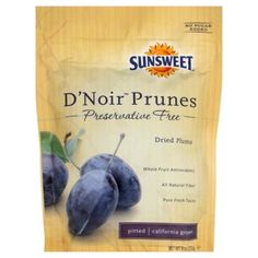 Sunsweet Prunes D'noir Pitted 9 Oz (Pack of 12) -- Click on the image for additional details.