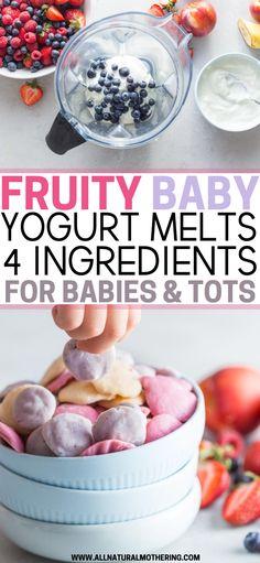 Homemade Toddler Snacks, Healthy Homemade Snacks, Healthy Toddler Snacks, Healthy Yogurt, Healthy Toddler Food, Nutritious Snacks, Homemade Baby Foods, Healthy Snacks For Toddlers, Toddler Recipes