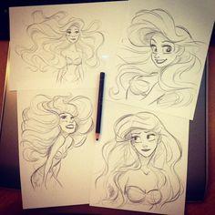 Ariel Sketches