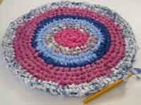 Circular Crochet Rag Rug Instructions