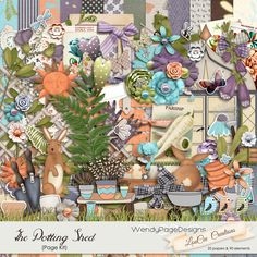 Personal Use :: Kits :: The Potting Shed Page Kit
