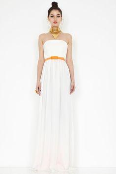 Kubrick black v neck maxi dress