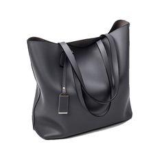 Only $20.04 , Women Bag Handbag Tote Over Shoulder Messenger Leather Female Sling Black Luxury Designer Fringe Bucket Fashion Big Bag
