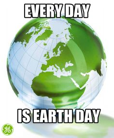 Everyday is #EarthDay for us energy efficiency companies and it can be for you too! Find ways to go #green