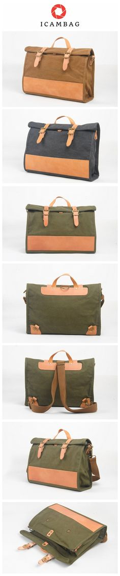 The bag of canvas bag carry the case of the bag of the leather business man bag and the shoulder bag   1944P