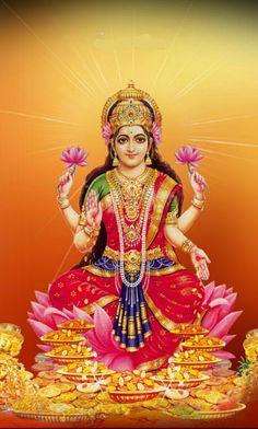 Maa Lakhmi Shiva Hindu, Hindu Deities, Ganesh Jayanti, Navratri Puja, Gayatri Devi, Saraswati Goddess, Lord Ganesha Paintings, Hindu Statues, Lakshmi Images