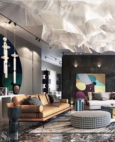 Home Decor Outlets Home Inspiration : The Definitive Source for Interior Designers Fancy Living Rooms, Living Room Grey, Living Room Designs, Living Room Decor, Bedroom Decor, Living Room Display Cabinet, Home Design Plans, Home Decor Outlet, Elle Decor
