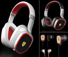 Ferrari Scuderia - If you love fast cars and loud music than look no further than the Ferrari Scuderia iPod dock and headphone collection. Ipod Dock, Ferrari Scuderia, Ferrari Car, Running Gear, Saint Tropez, Car Rental, Fast Cars, Car Accessories, Monaco