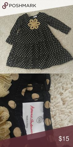 Hanna Andersson polka dot dress Cute tiered, polka dot dress, like New condition Hanna Andersson Dresses Casual
