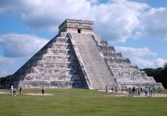 Chitchen Itza, Mexico. Awesome place! Very interesting and very hot as there is not much shelter from the sun.