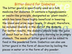 Practical Life Tips For You And Me: #Bitter #Gourd for #Diabetes