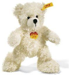 Peluche Ours Teddy Lotte blanc 28 cm Steiff-Peluche.fr - La Boutique des peluches STEIFF en France #teddy #nounours #doudou