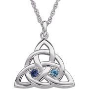 Personalized Celtic Love Knot Pendant -- Hint, Hint, David!