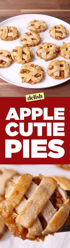These Caramel Apple Cutie Pies are basically apple pie in cookie form. Get the…