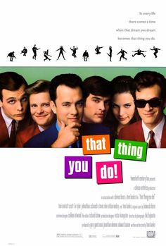 "That Thing You Do! is a 1996 American musical comedy-drama film written and directed by Tom Hanks in his directorial debut; he also co-stars in it. Set in the summer of 1964, the film tells the story of the rise and fall of a one-hit wonder pop band. The film also resulted in a musical hit with the song ""That Thing You Do"". Plot: A local Pennsylvania band scores a one hit wonder in 1964 and rides the star-making machinery as long as they can, with lots of help from its manager."