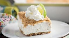 FROZEN KEY LIME CRUNCH CAKE. A refreshing frozen treat with all the flavors of your favorite pie!