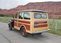 Jeep Willys Station Wagon.