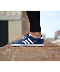 0d840d52c8f1f Adidas Originals Gazelle OG Marino Royal Trainer