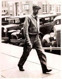 dirtyculture: Vintage workwear Via Denim Bro