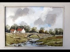 Watercoloring demo with Alan Owen - YouTube