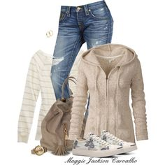 """For the Love of Hoodies"" by maggie-jackson-carvalho on Polyvore"