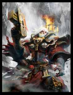 [W40K] Collection d'images : Inquisition/Chevaliers Gris/Sœurs de Bataille…
