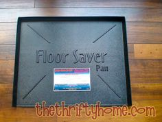 Floor Saver Pan To Place Under Dishwasher The Thrifty Home