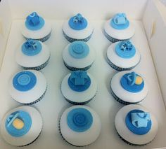 decorated baby cakes ideas | Baby+Shower+cupcakes.jpg